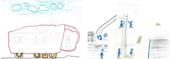 Concurso de dibujo infantil en Lagupres